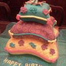 Aladdin and Jasmine Birthday Cakes
