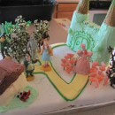 Wizard of Oz Movie and Book Character Cakes