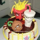 Aqua Teen Hunger Force Birthday Cakes