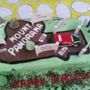 Racetrack Birthday Cakes