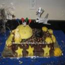Space Scene Birthday Cakes