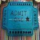 Carnival Ticket Birthday Cakes