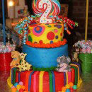 Circus and Carnival Scene Birthday Cakes