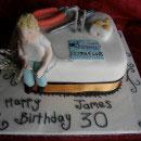 Electrician Birthday Cakes