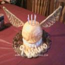 Golden Snitch Birthday Cakes