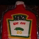 Ketchup Birthday Cakes