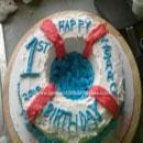 Life Preserver Birthday Cakes