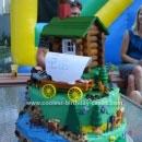 Little House on the Prairie Birthday Cakes