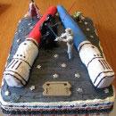 Lightsaber Birthday Cakes