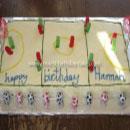 Netball Birthday Cakes