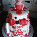Olivia the Pig Birthday Cakes
