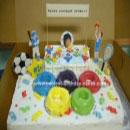 Olympics Birthday Cakes