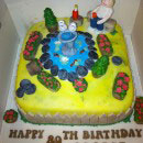 Fountain Birthday Cakes