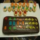 TV Remote Birthday Cakes