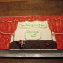 Theatre and Stage Birthday Cakes