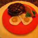 Bacon, Eggs and Toast Birthday Cakes