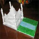 Taj Mahal Landmark Cakes