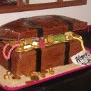 Treasure Chest Birthday Cakes