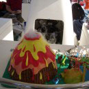 Volcano Kids Birthday Cakes