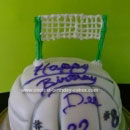 Volleyball Birthday Cakes