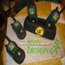 Walkie Talkies Birthday Cakes and How to Make a Cake