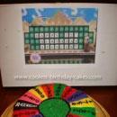 Wheel of Fortune Birthday Cakes