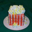 Popcorn Birthday Cakes