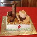 Cowboy Boots Birthday Cakes