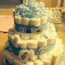 Diaper Cake Birthday Cakes