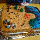 Treasure Map Pirate Cake Ideas