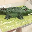 Alligator Birthday Cakes