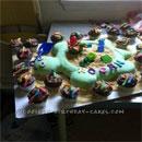Sand Pail and Sandbox Birthday Cakes