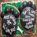 Dog Paws Birthday Cakes