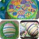 Easter Eggs Easter Cake Ideas