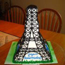 Eiffel Tower Birthday Cakes