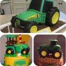 Farming Tractors Cakes