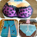 Fashion/Glamour Birthday Cakes