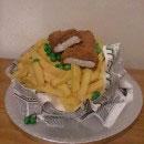 Fish n Chips Birthday Cakes