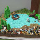 River Birthday Cakes