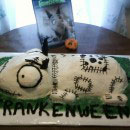 Frankenweenie Birthday Cakes