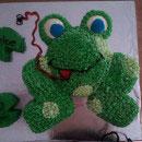 Frog Birthday Cakes