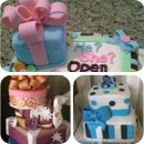 Gift Wrapped Boxes Birthday Cakes