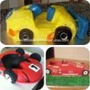 Go Kart Birthday Cakes