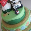 Golf Birthday Cakes