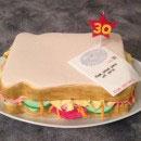 Sandwich Birthday Cakes