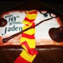 Harry Potter Scene Birthday Cakes