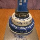 Doctor Who Birthday Cakes