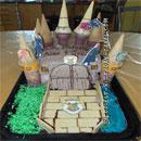 Hogwarts Castle Birthday Cakes