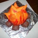 Camp Site Birthday Cakes
