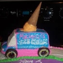 Ice Cream Truck Birthday Cakes